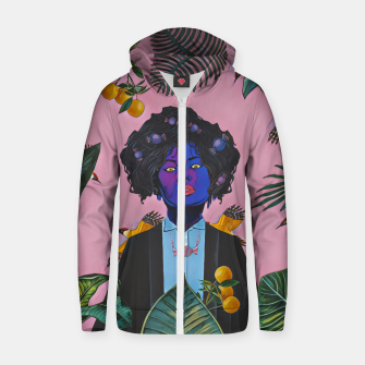 Thumbnail image of Candy Zip up hoodie, Live Heroes