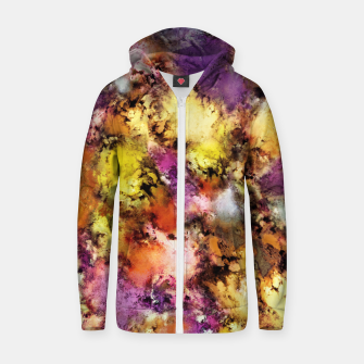 Thumbnail image of Dismantling the flowers Zip up hoodie, Live Heroes