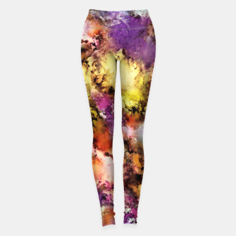 Thumbnail image of Dismantling the flowers Leggings, Live Heroes