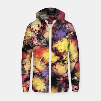 Thumbnail image of Ashes and heat Zip up hoodie, Live Heroes
