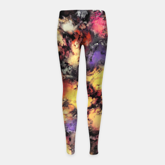 Thumbnail image of Ashes and heat Girl's leggings, Live Heroes