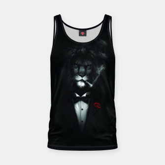 Thumbnail image of The Stylish Lion. Tank Top, Live Heroes