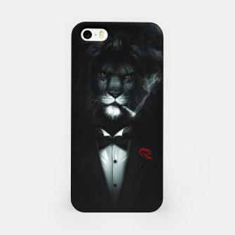 Miniatur The Stylish Lion. iPhone Case, Live Heroes