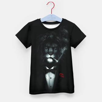 Miniatur The Stylish Lion. Kid's t-shirt, Live Heroes