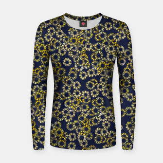 Thumbnail image of Sunflower Blues Women sweater, Live Heroes