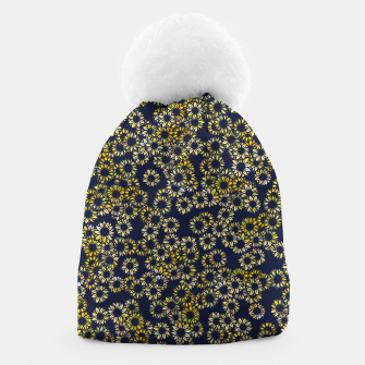 Thumbnail image of Sunflower Blues Beanie, Live Heroes