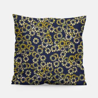 Thumbnail image of Sunflower Blues Pillow, Live Heroes
