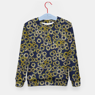 Thumbnail image of Sunflower Blues Kid's sweater, Live Heroes