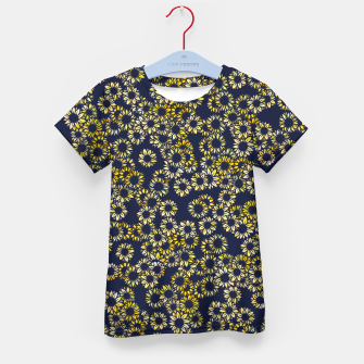 Thumbnail image of Sunflower Blues Kid's t-shirt, Live Heroes