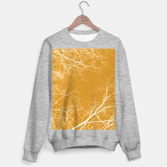 Miniaturka Branches Impressions on yellow  Sweater regular, Live Heroes