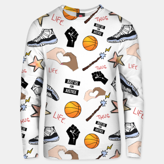 Thumbnail image of The Hate U Give Unisex sweater, Live Heroes