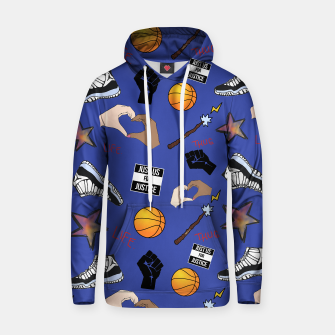 Thumbnail image of The Hate You Give Hoodie, Live Heroes