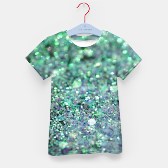 Thumbnail image of Underwater Mermaid Glitter #1 #shiny #decor #art T-Shirt für kinder, Live Heroes