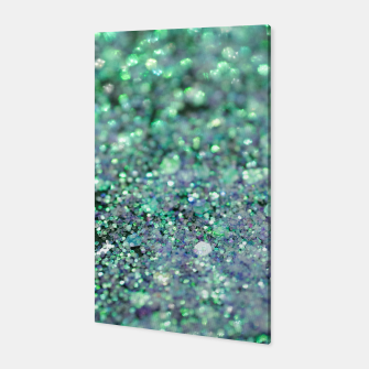 Thumbnail image of Underwater Mermaid Glitter #1 #shiny #decor #art Canvas, Live Heroes
