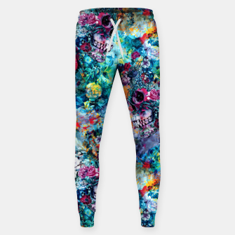 Miniatur Surreal Skull Sweatpants, Live Heroes