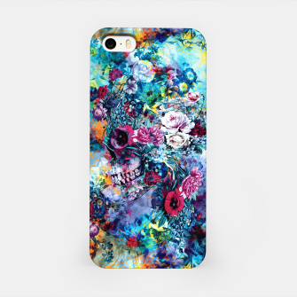 Miniatur Surreal Skull iPhone Case, Live Heroes