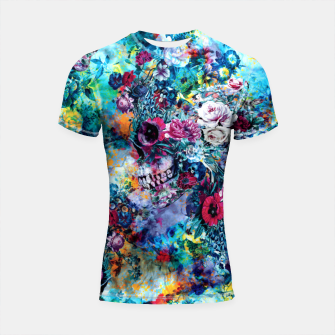 Surreal Skull Shortsleeve rashguard miniature