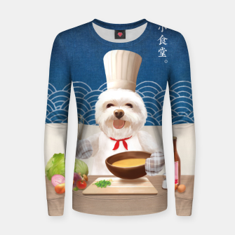 Thumbnail image of Little Chef Women sweater, Live Heroes