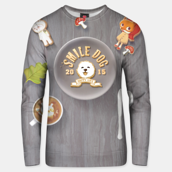 Thumbnail image of SmileDog Icing Cookies Unisex sweater, Live Heroes