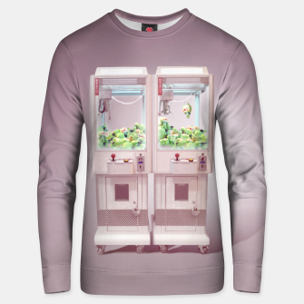Thumbnail image of Claw Machine Unisex sweater, Live Heroes