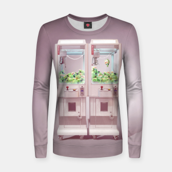 Thumbnail image of Claw Machine Women sweater, Live Heroes