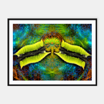 Thumbnail image of Crawling In and Out of Enlightenment Framed poster, Live Heroes