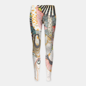 Thumbnail image of Language of Light doodling Journal  Girl's leggings, Live Heroes