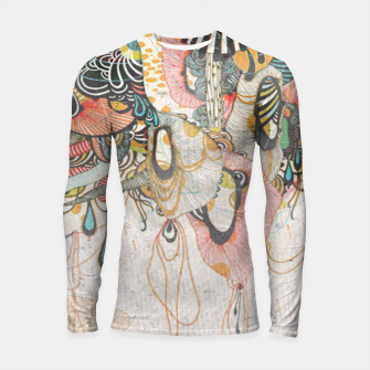 Language of Light doodling Journal  Longsleeve rashguard  thumbnail image