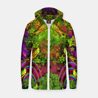 Thumbnail image of Grasshopper Dream Land Zip up hoodie, Live Heroes