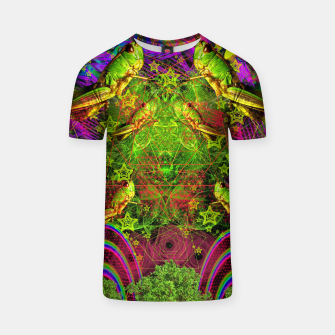 Thumbnail image of Grasshopper Dream Land T-shirt, Live Heroes