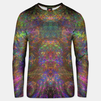 Thumbnail image of Galactic Woman Unisex sweater, Live Heroes