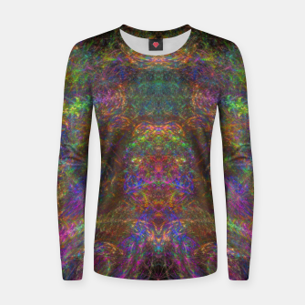 Miniatur Galactic Woman Women sweater, Live Heroes