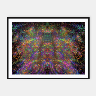 Thumbnail image of Galactic Woman Framed poster, Live Heroes