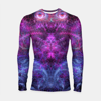 Thumbnail image of Sister Lin Watching Over Orphaned Eggs (visionary, psychedelic) Longsleeve rashguard , Live Heroes