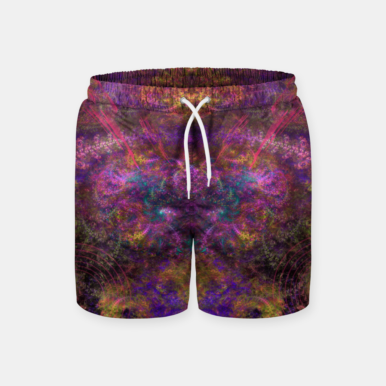 Image of The Celestial Queen Tiye Swim Shorts - Live Heroes