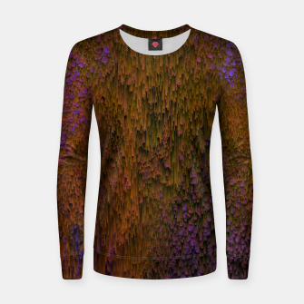 Thumbnail image of Flower Shower - Abstract Pixel Art Women sweater, Live Heroes