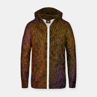 Thumbnail image of Flower Shower - Abstract Pixel Art Zip up hoodie, Live Heroes