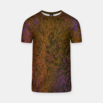 Thumbnail image of Flower Shower - Abstract Pixel Art T-shirt, Live Heroes
