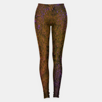 Thumbnail image of Flower Shower - Abstract Pixel Art Leggings, Live Heroes
