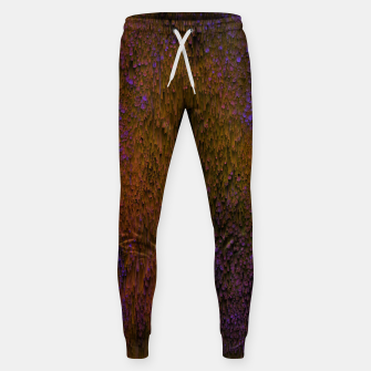 Thumbnail image of Flower Shower - Abstract Pixel Art Sweatpants, Live Heroes