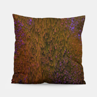 Thumbnail image of Flower Shower - Abstract Pixel Art Pillow, Live Heroes