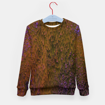 Thumbnail image of Flower Shower - Abstract Pixel Art Kid's sweater, Live Heroes
