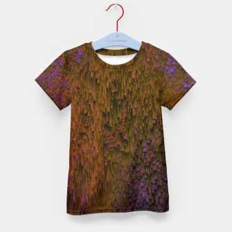 Thumbnail image of Flower Shower - Abstract Pixel Art Kid's t-shirt, Live Heroes