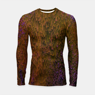 Thumbnail image of Flower Shower - Abstract Pixel Art Longsleeve rashguard , Live Heroes
