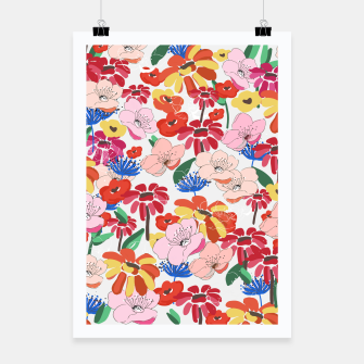 Thumbnail image of Pretty Blooms Poster, Live Heroes
