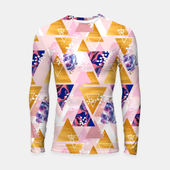 Thumbnail image of Blush Geo Magic Longsleeve rashguard , Live Heroes