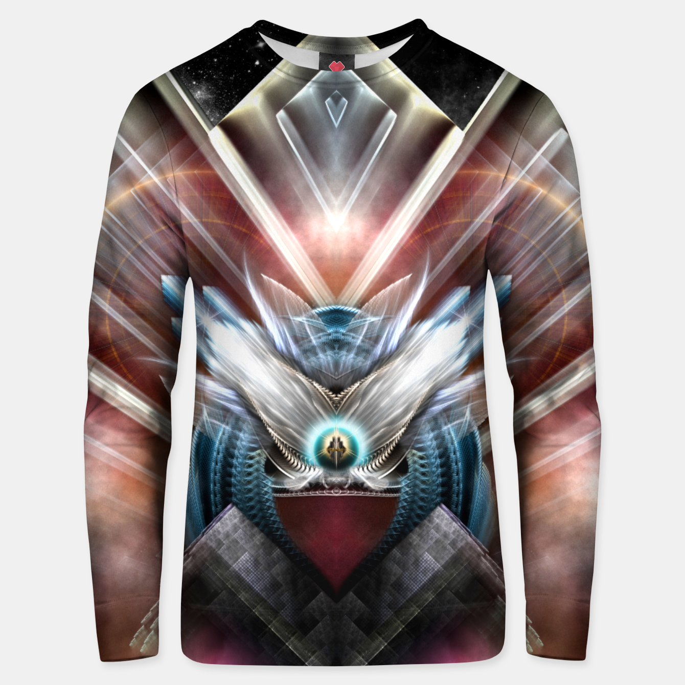 Image of Deco Wings Of Eternity Unisex sweater - Live Heroes