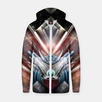 Miniaturka Deco Wings Of Eternity Zip up hoodie, Live Heroes