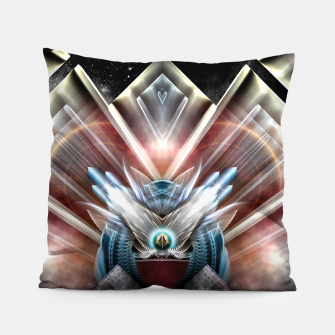 Deco Wings Of Eternity Pillow thumbnail image