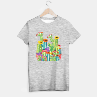 Thumbnail image of Cactus Garden T-shirt regular, Live Heroes